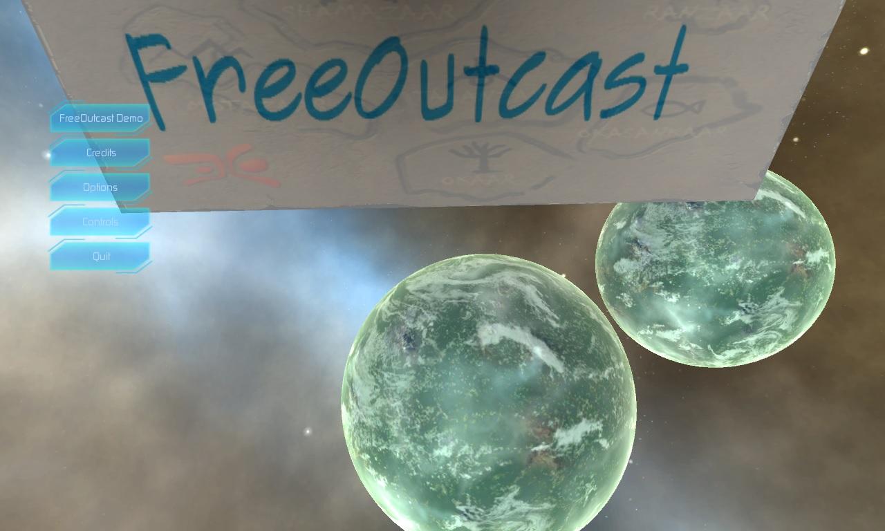 FreeOutcast mainmenu