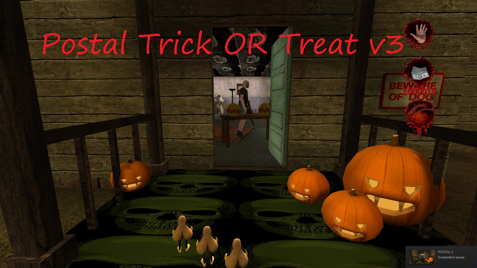 A Postal 2 mod I made called: POSTAL Trick OR Treat v3